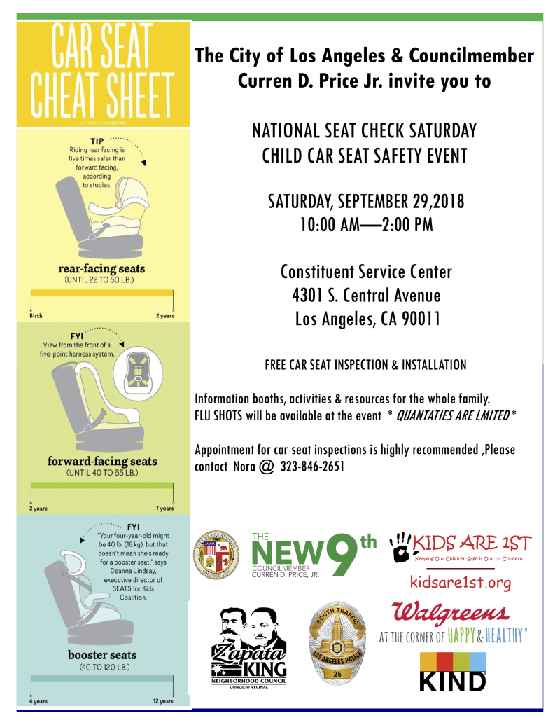 September 29th -Child Safety Seat Event (3)