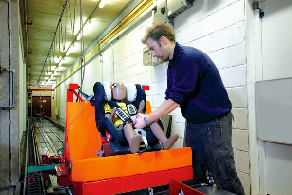 Small-test-rig-is-used-to-check-Britax-seat-meets-legal-safety